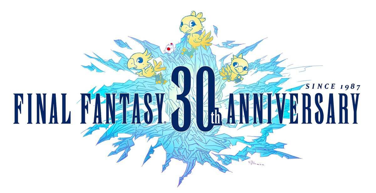 Final Fantasy 30th Anniversary logo