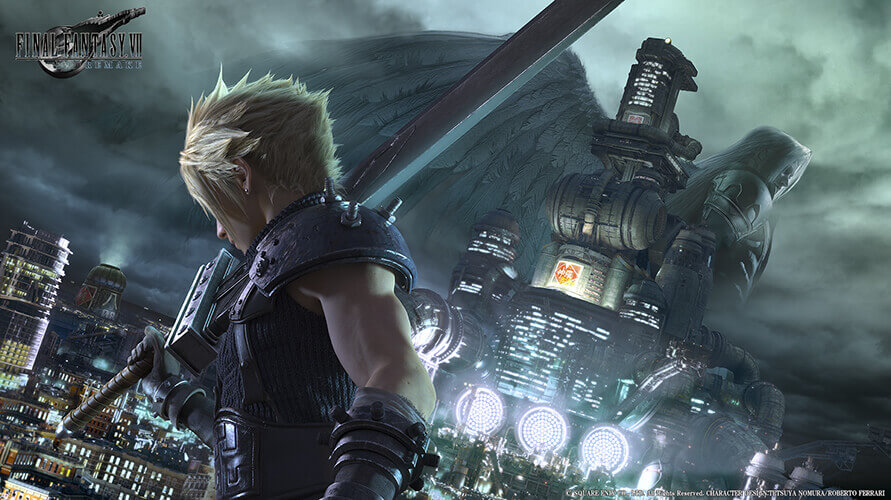 Final Fantasy VII Remake promo image