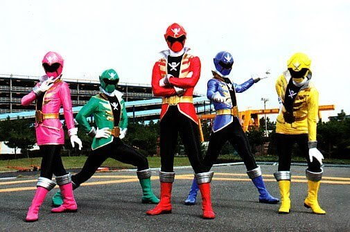Gokaiger, which aired in 2011, was a huge success in Japan.