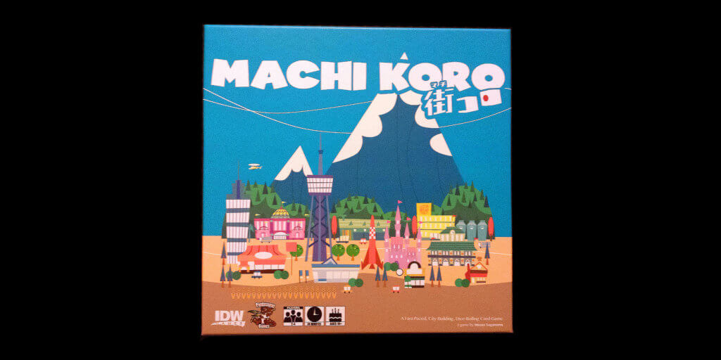 Machi Koro Game Box