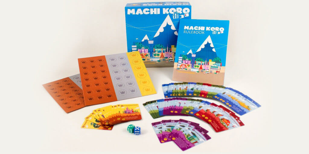 Machi Koro Game // Image Source: Amazon