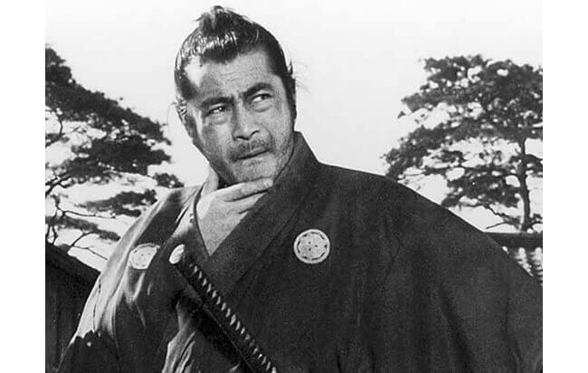 Toshiro Mifune as the unnamed samurai