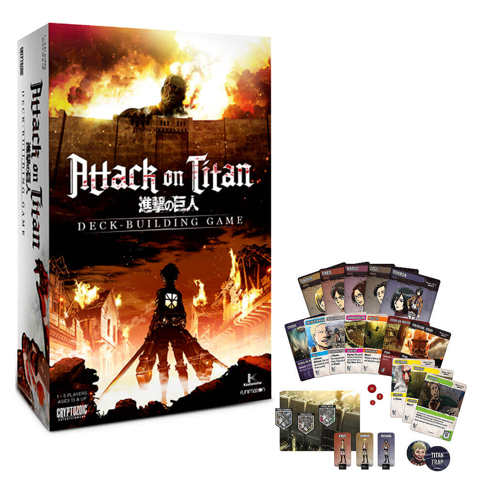 Asian Inspired Card Game - Attack on Titan