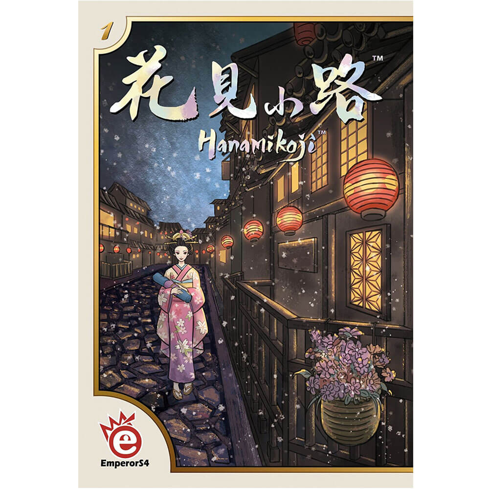 Asian Inspired Card Game - Hanamikoji