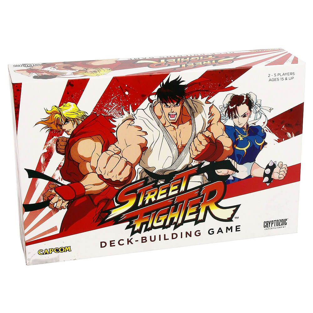 Asian Inspired Card Game - Street Fighter