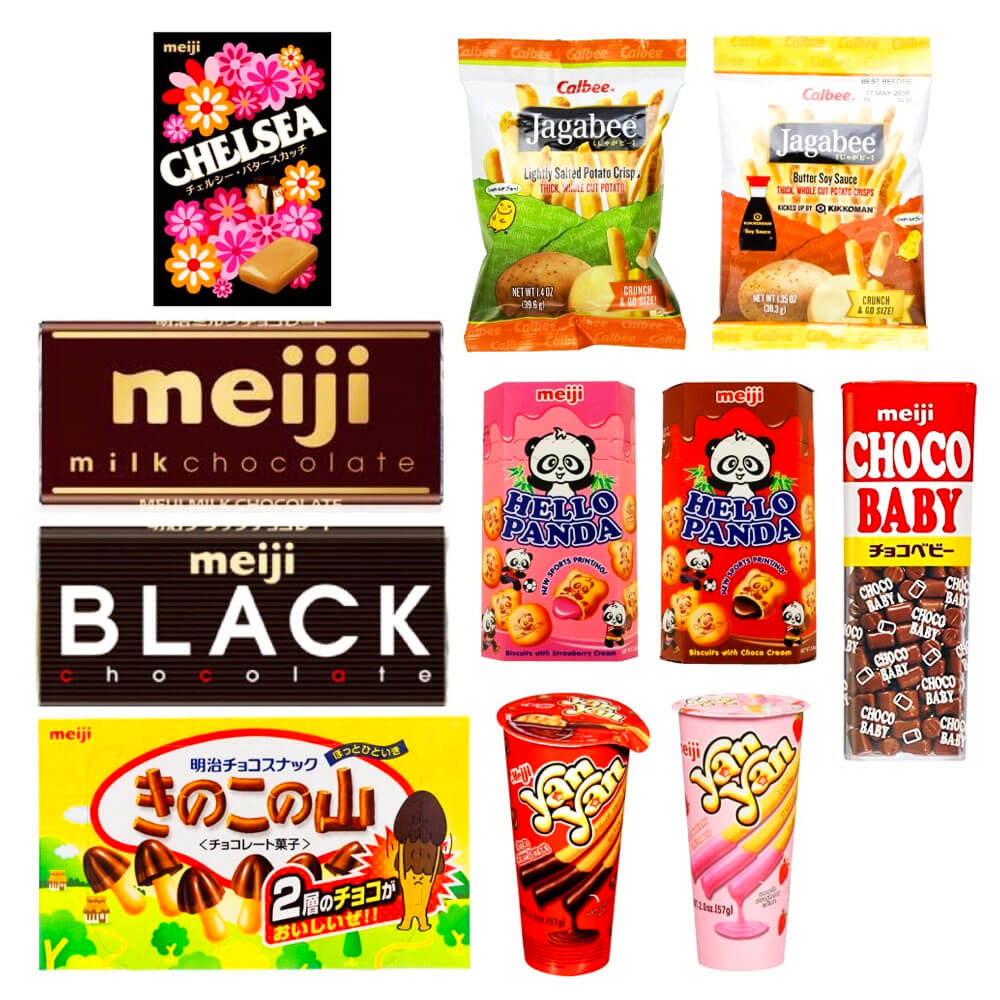Valentine's day Gift Guide Meiji Assorted Japanese Chocolates