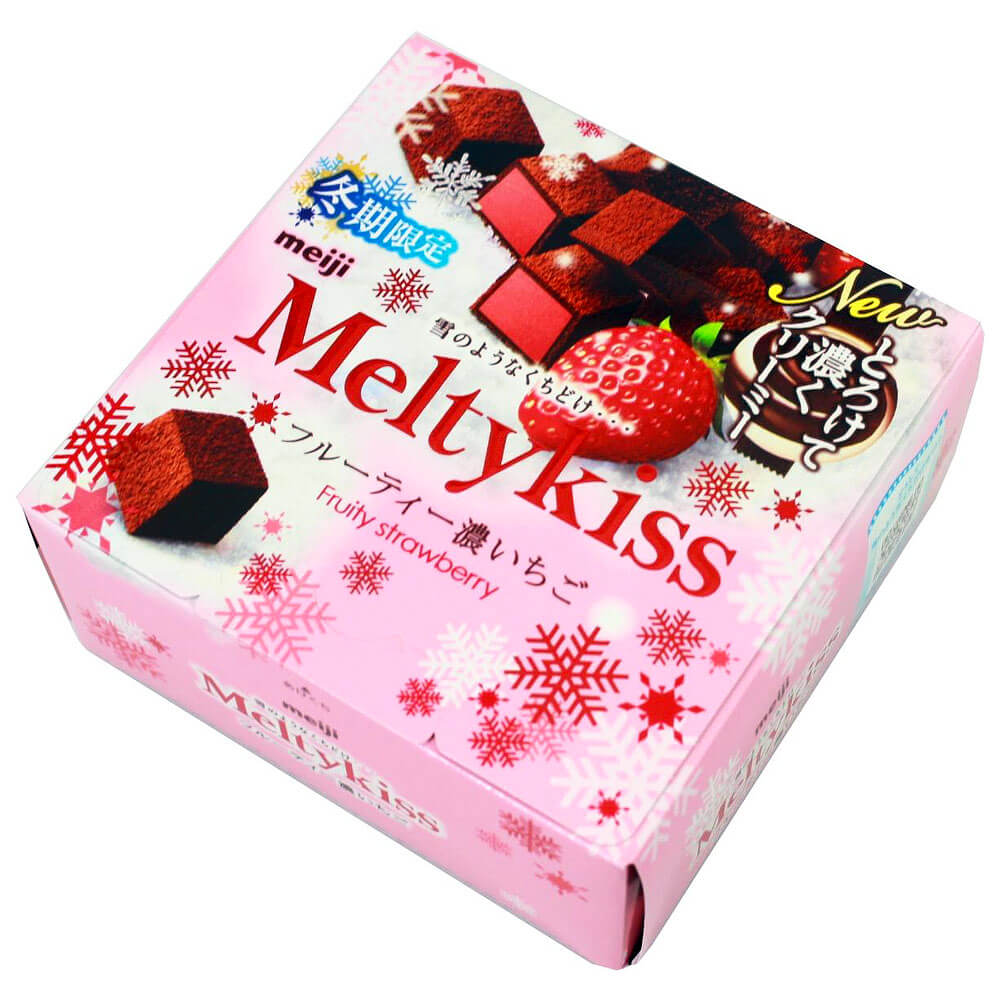Valentine's day Gift Guide Meiji Meltykiss Fruity Strawberry Candy