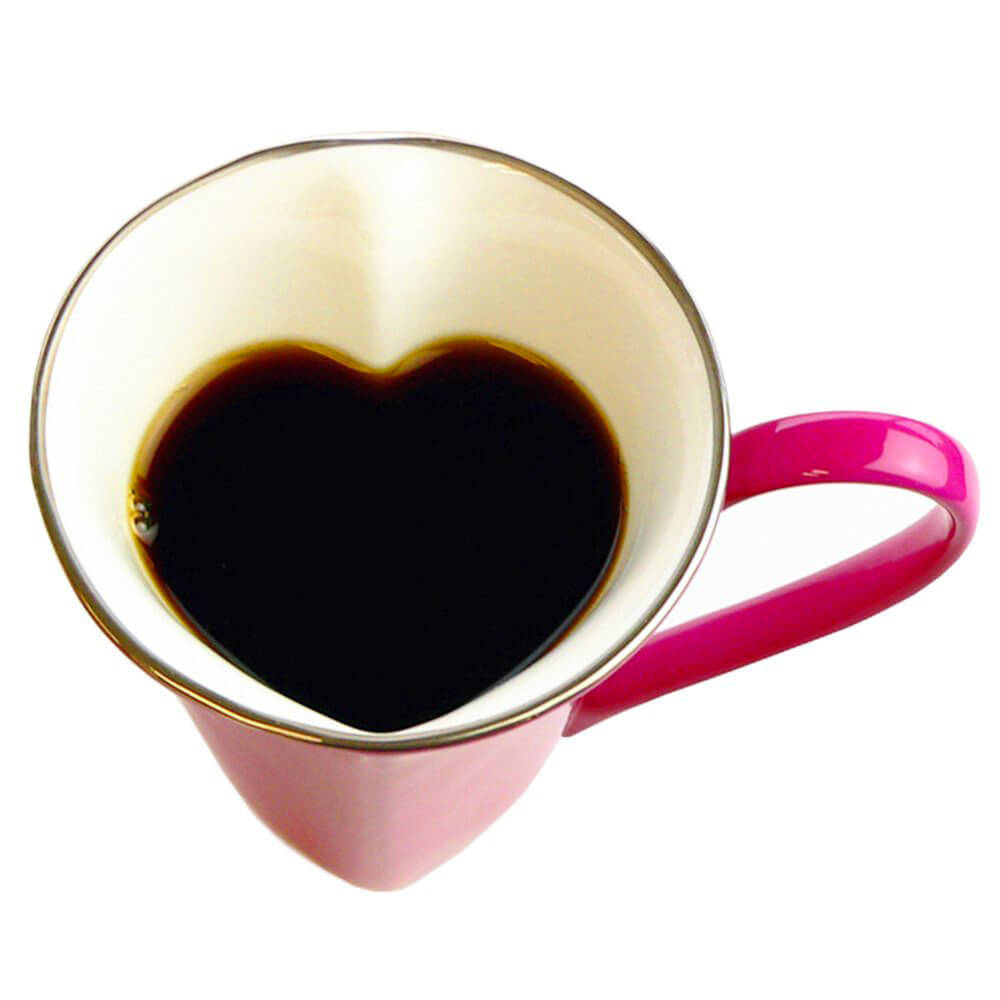 Valentine's day Gift Guide WAGOKOROYA Heart-shaped Mug