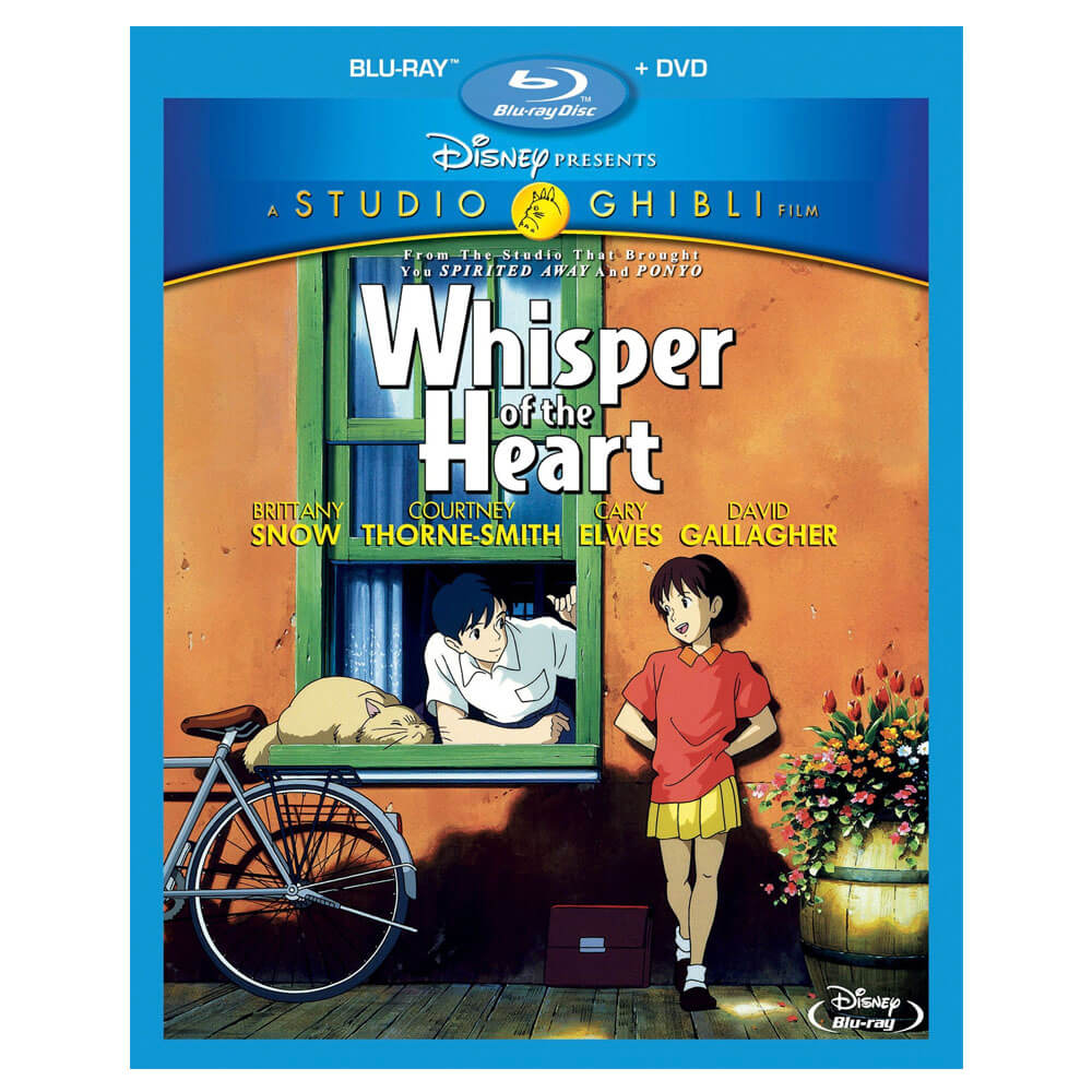 Valentine's day Gift Guide Whisper of the Heart Blu-ray