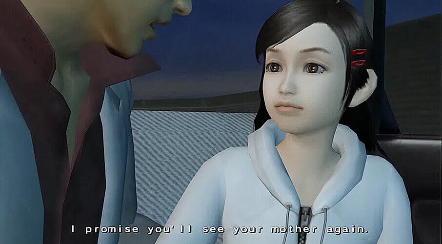 Kiryuu making a promise to Haruka