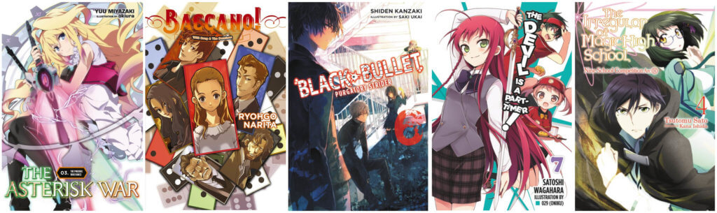 April 2017 Manga Releases Yen Press Light Novels