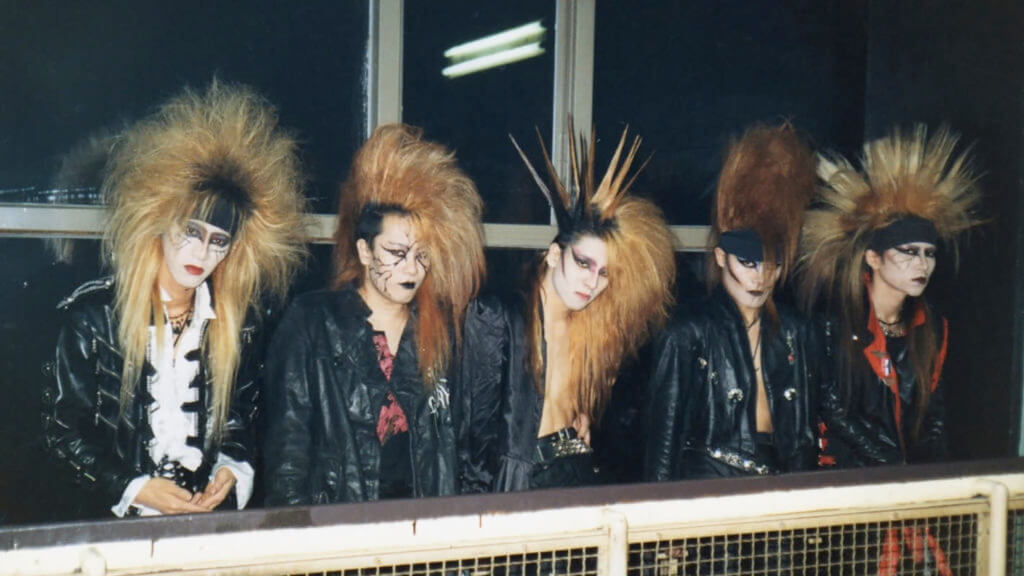 The Evolution of Visual Kei - Photo of X Japan in 1989