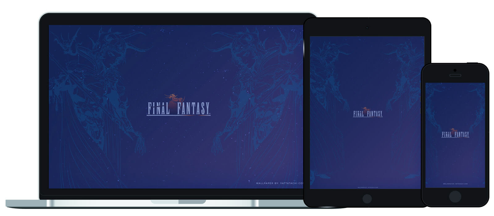 Yatta-Tachi's Wallpaper of the Month - Final Fantasy 1