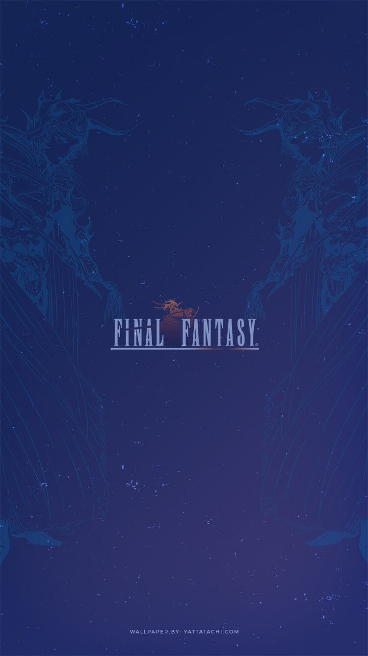 Wallpaper of the month final fantasy 1 yatta tachi - I phone fantasy wallpapers ...