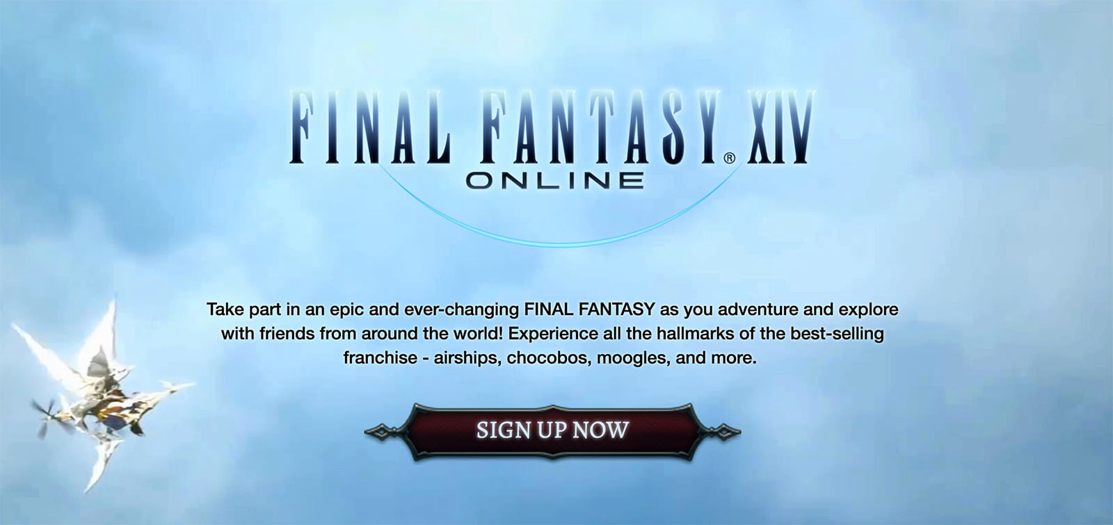 Final Fantasy 14 Website