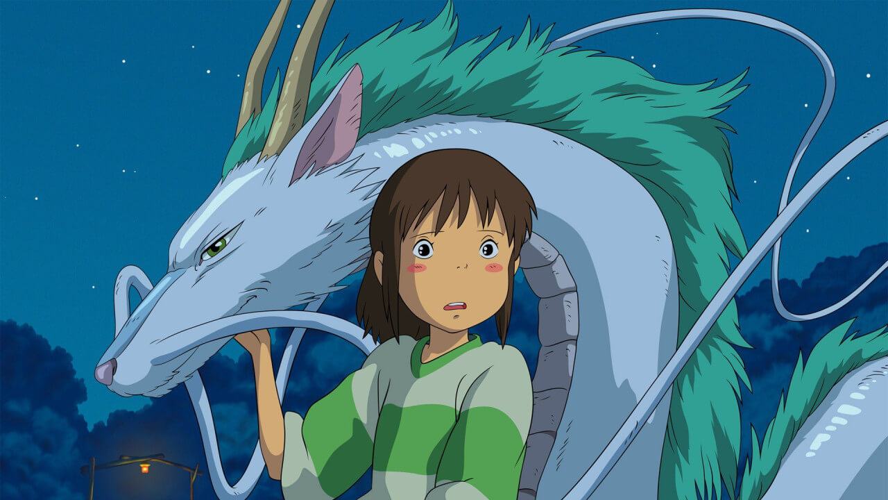 Spirited Away by Princess Mononoke by Caitlin Moore