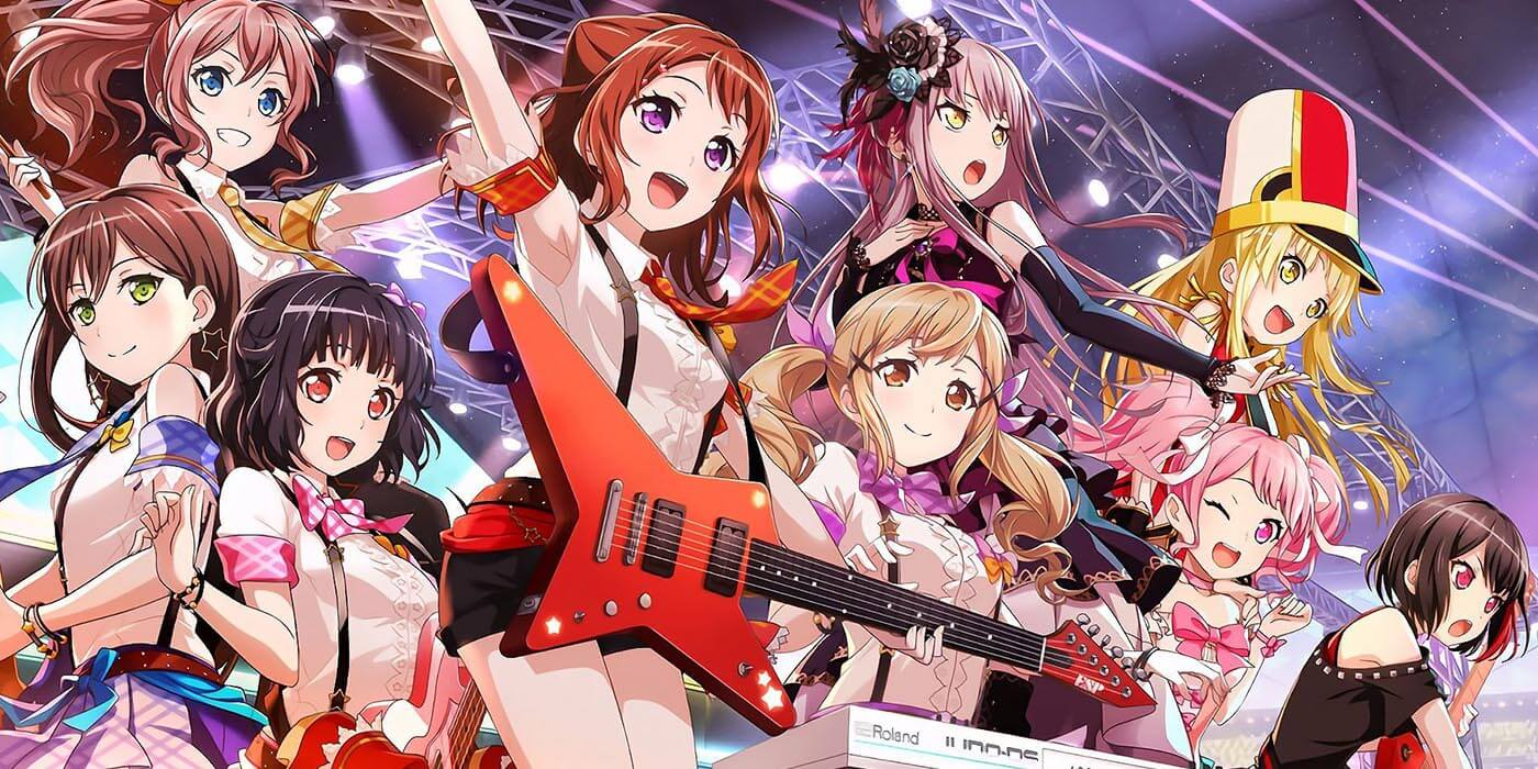 Best Anime of Winter 2017 - BanG Dream