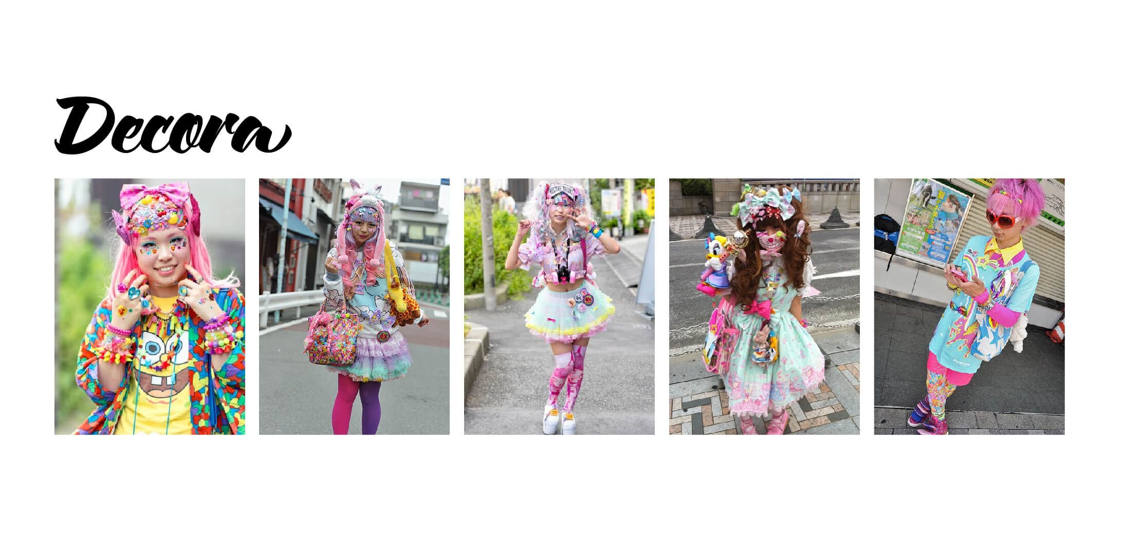 Examples of Decora Fashion