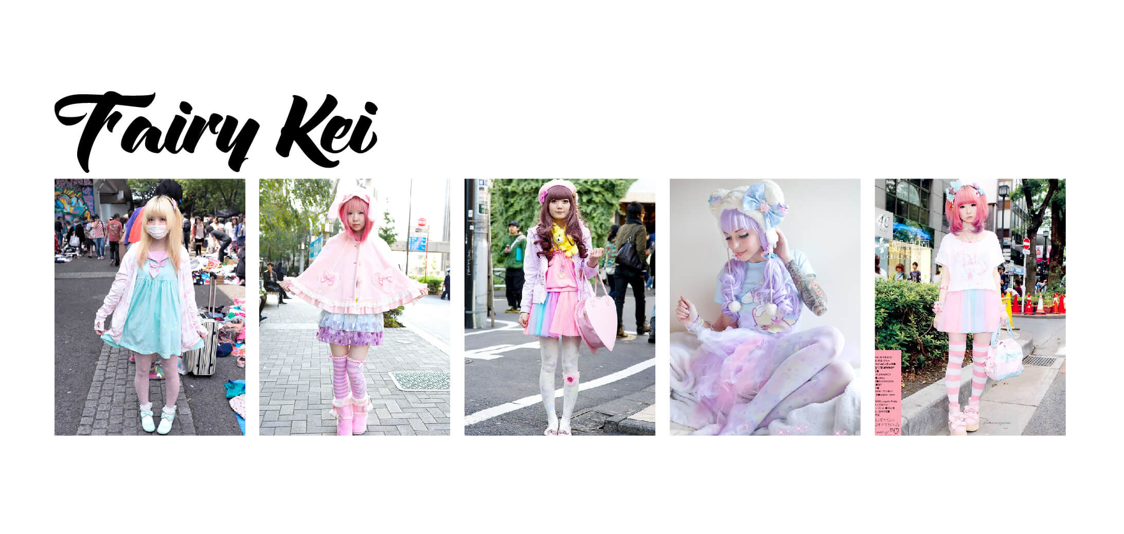 Examples of Fairy Kei Fashion