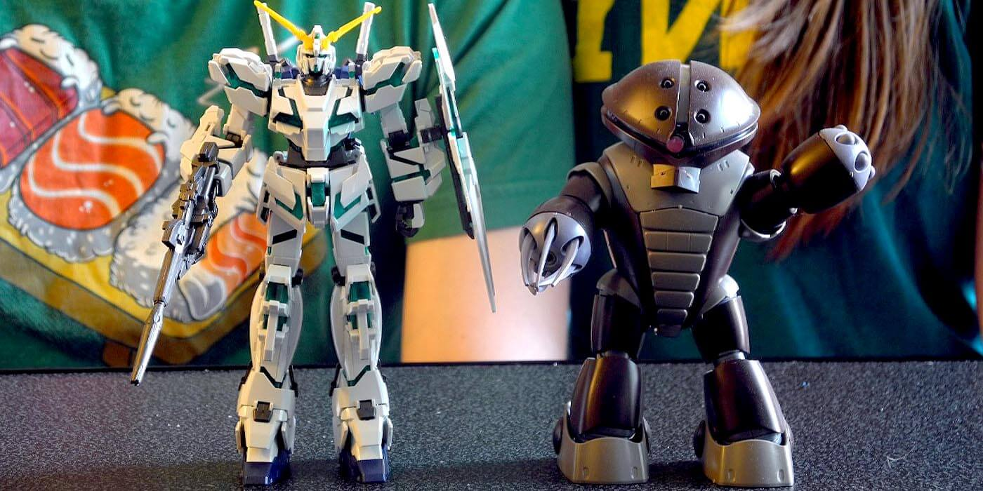 Gunpla101 - Lauren and her husband