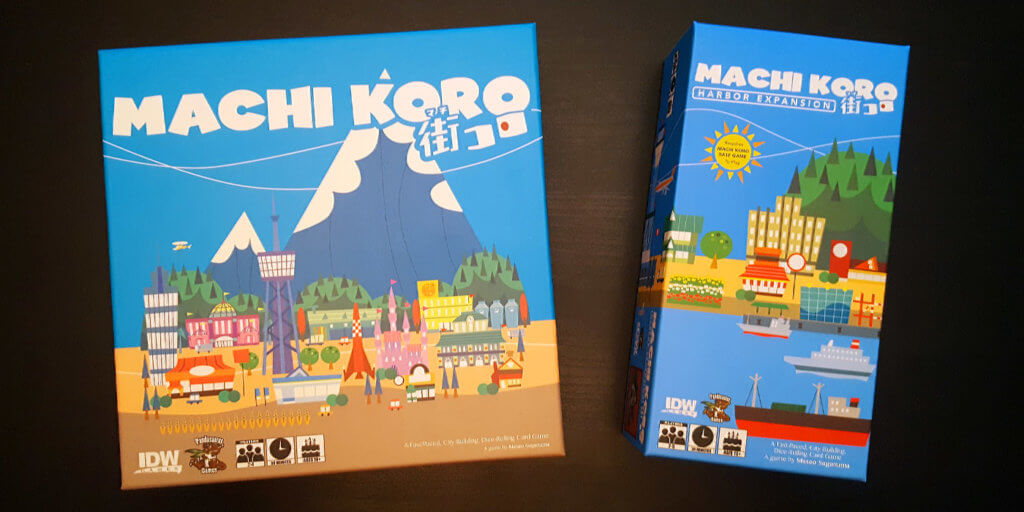 Machi Koro & Harbor Expansion Box