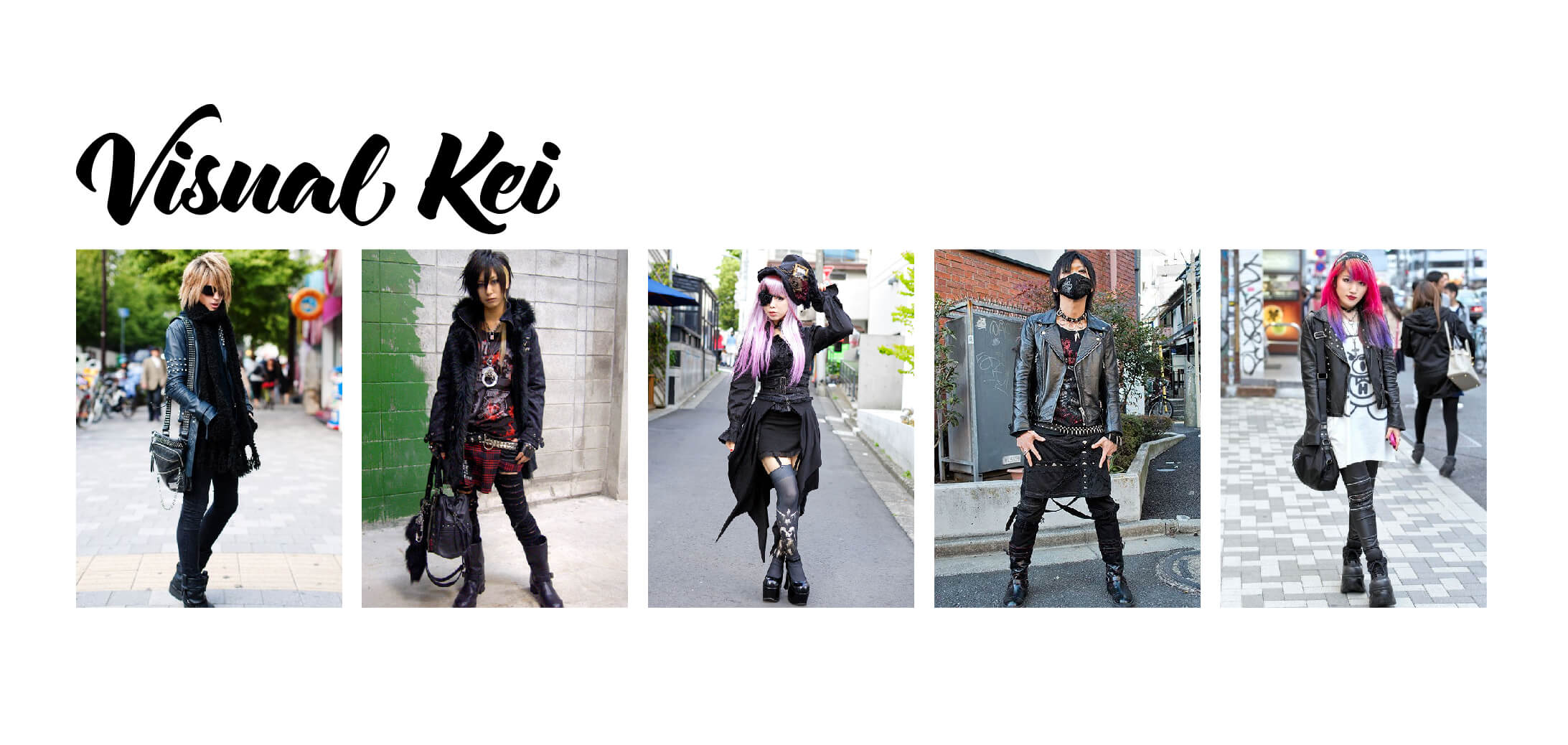 Examples of Visual Kei Fashion
