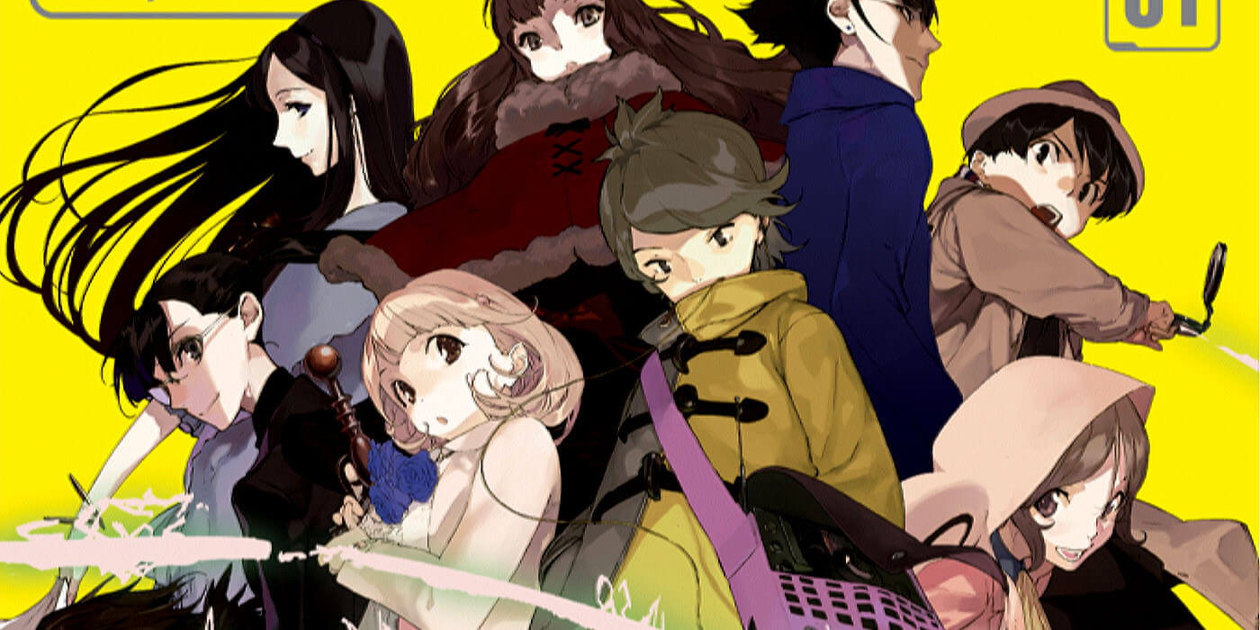 Occultic;Nine Vol. 1 Light Novel Review -