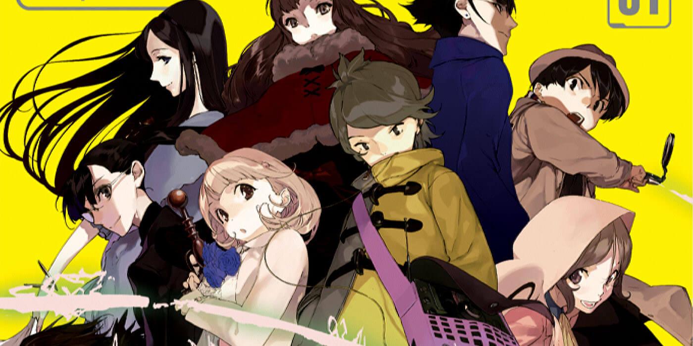 Occultic;Nine Vol. 1 Light Novel Review -
