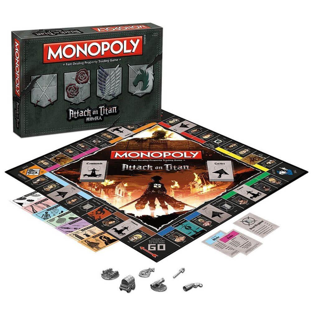 Attack on Titan Monopoly