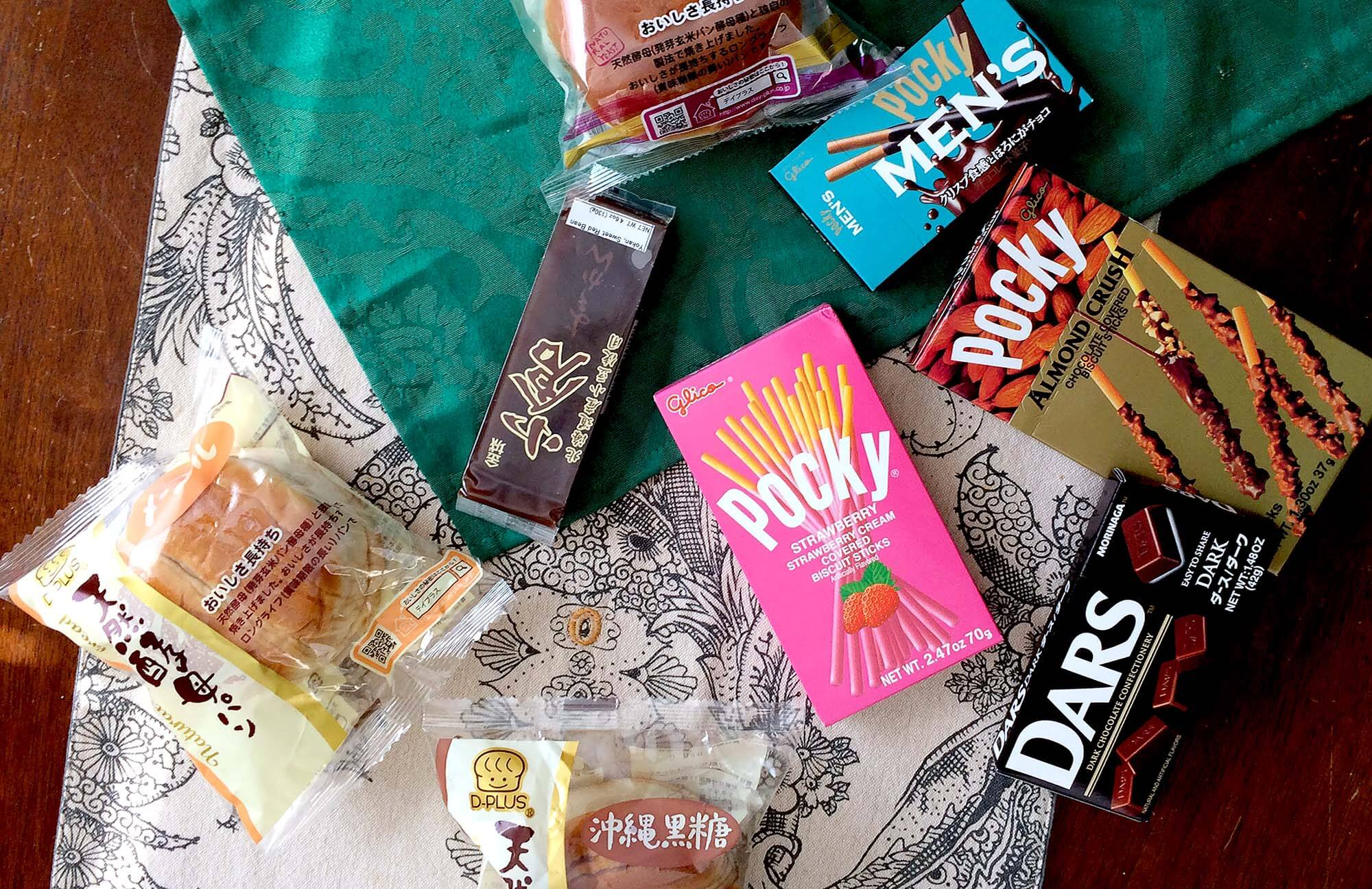 Picture of Japanese Snacks from Daiso