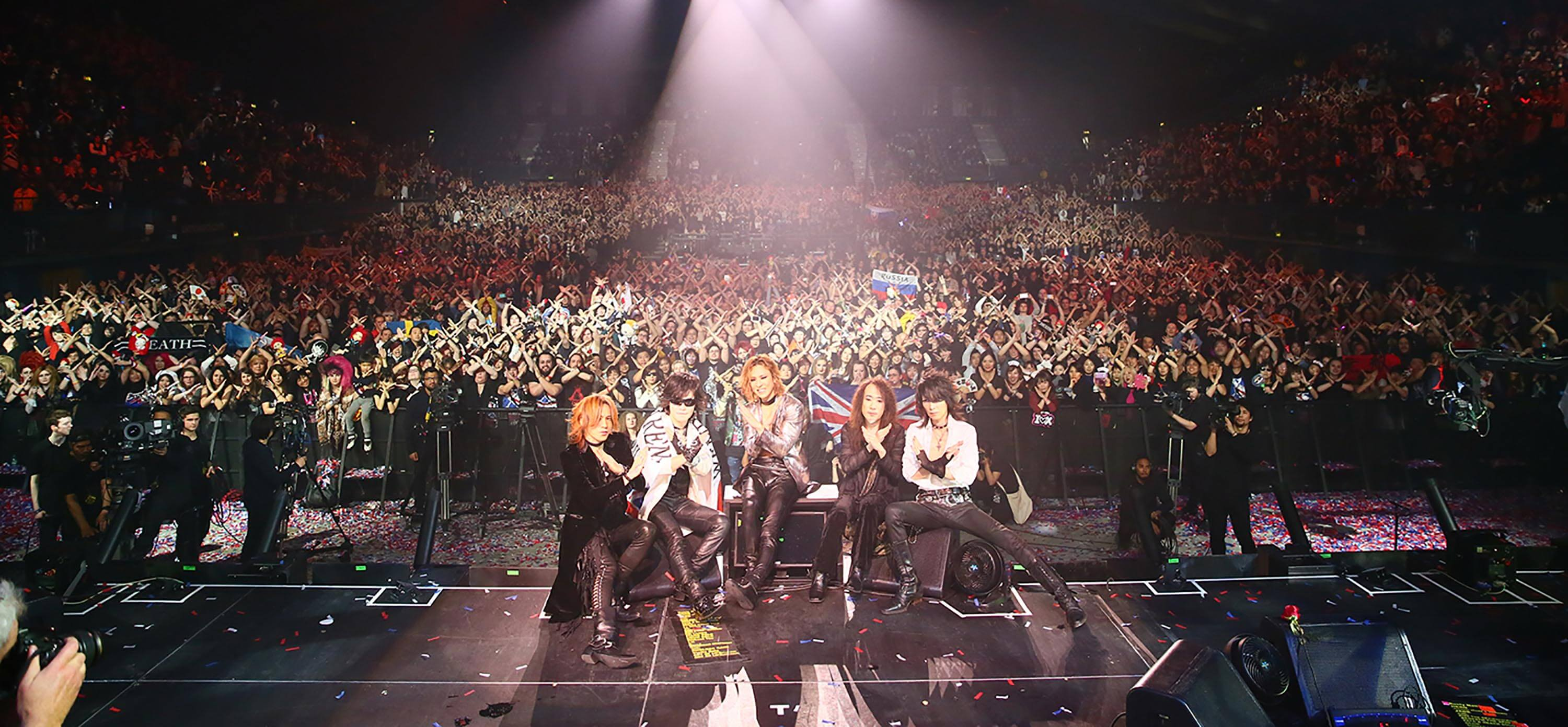 X JAPAN At Wembley Arena 2017 in London, England
