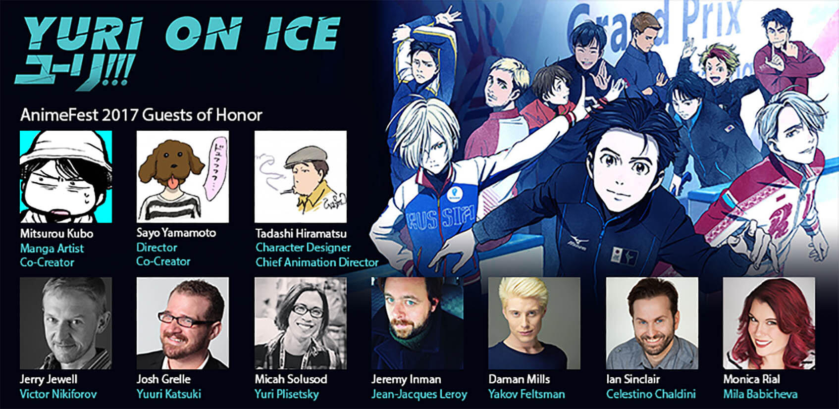 AnimeFest Yuri!!! on ICE Guests