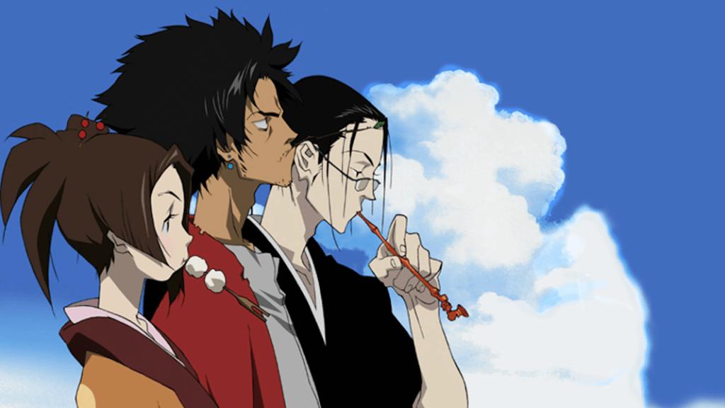 Samurai Champloo Characters: Fuu, Mugen, Jin