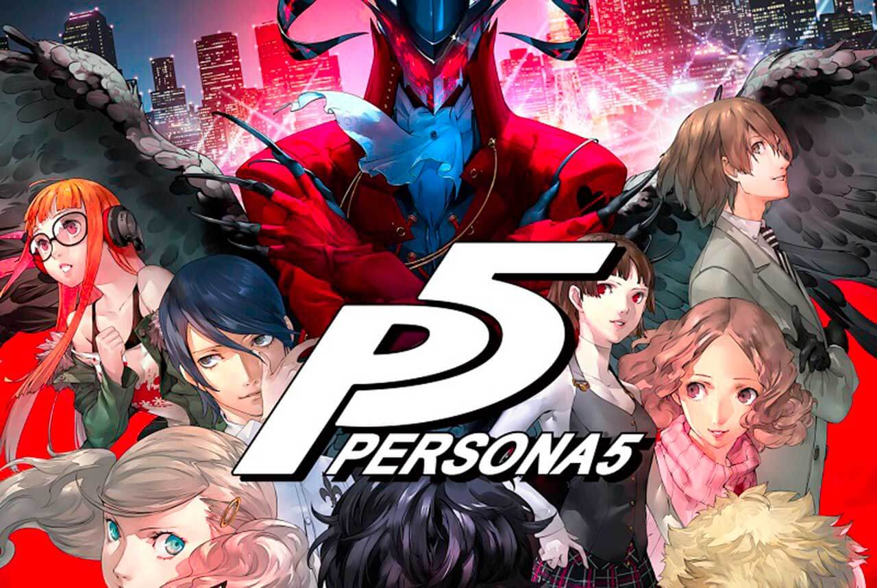 Persona 5 Game cover Art