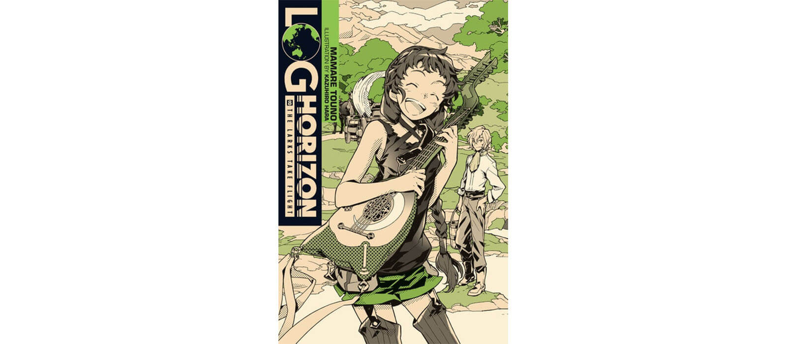 June 2017 Manga Releases - Log Horizon Vol. 8 by Mamare Touno