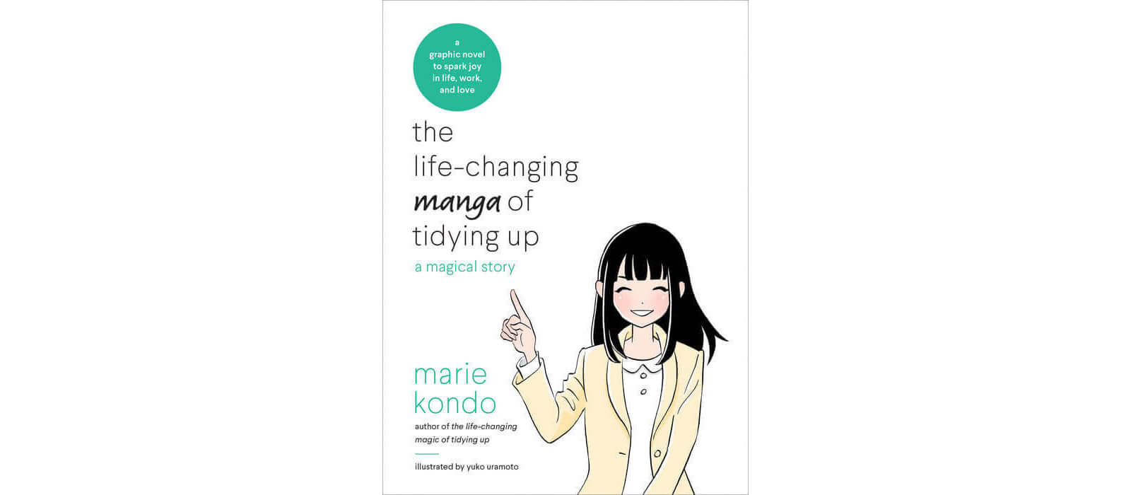 June 2017 Manga Releases - The Life Changing Manga of Tidying Up