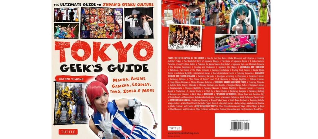 Cover to Tokyo Geek's Guide by Gianni Simone