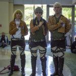 Reiner (Facebook: Kevlar Cosplay/Instagram: kevlarcosplay) • Jean (Facebook: Pluto Knights/Instagram: marcykarp)• Armin (Facebook: Pluto Knights/Instagram: starlit.rose)