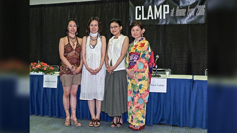 Clamp ladies in 2006