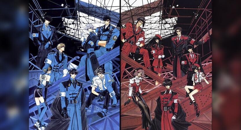 X's main characters