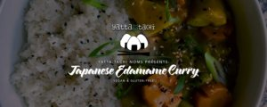 Japanese Edamame Curry Recipe [vegan & gluten-free]
