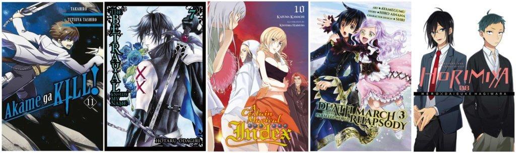 July 2017 Manga Release Yen Press