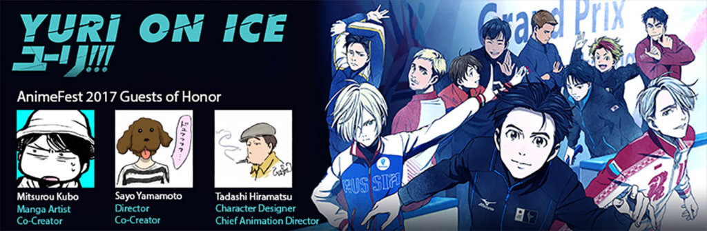 Yuri!!! On Ice Studio Staff
