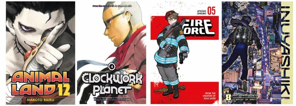 August 2017 Manga Release