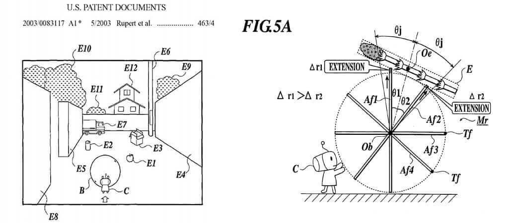 Pictures of Katamari Damacy patent