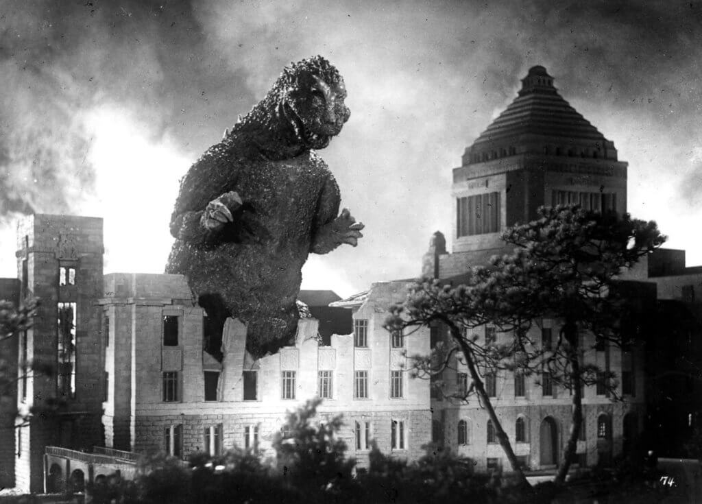 Godzilla from the original 1954 film