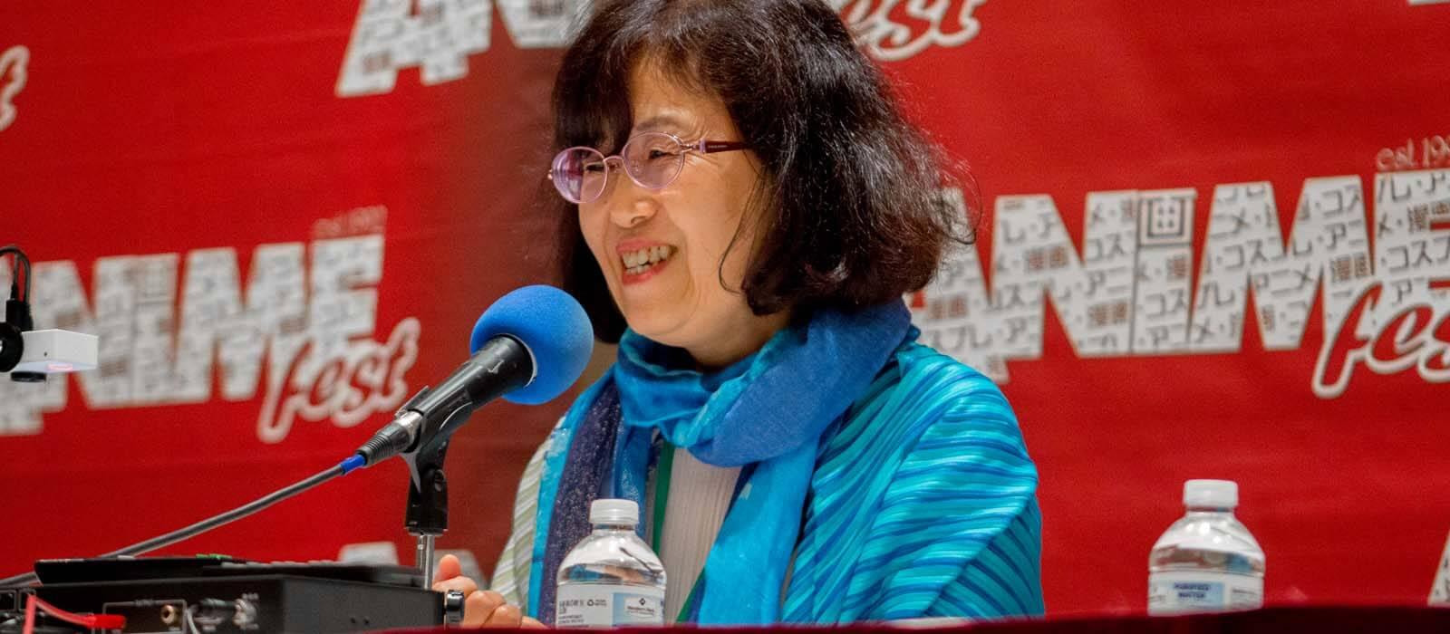 Atsuko Tanaka at AnimeFest 2017