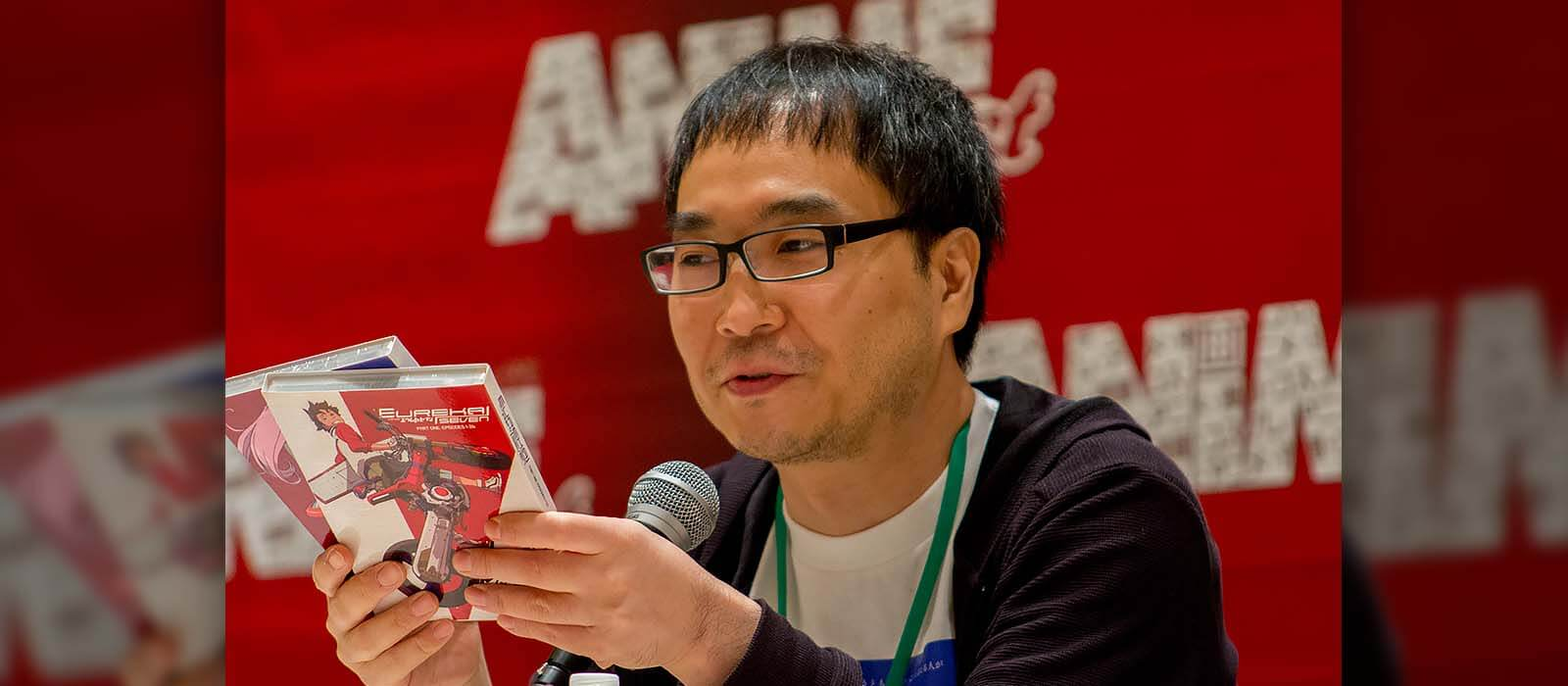Dai Sato At AnimeFest 2017 in Dallas, Texas