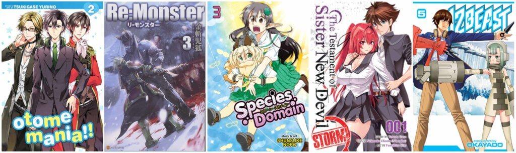 September 2017 Manga Releases