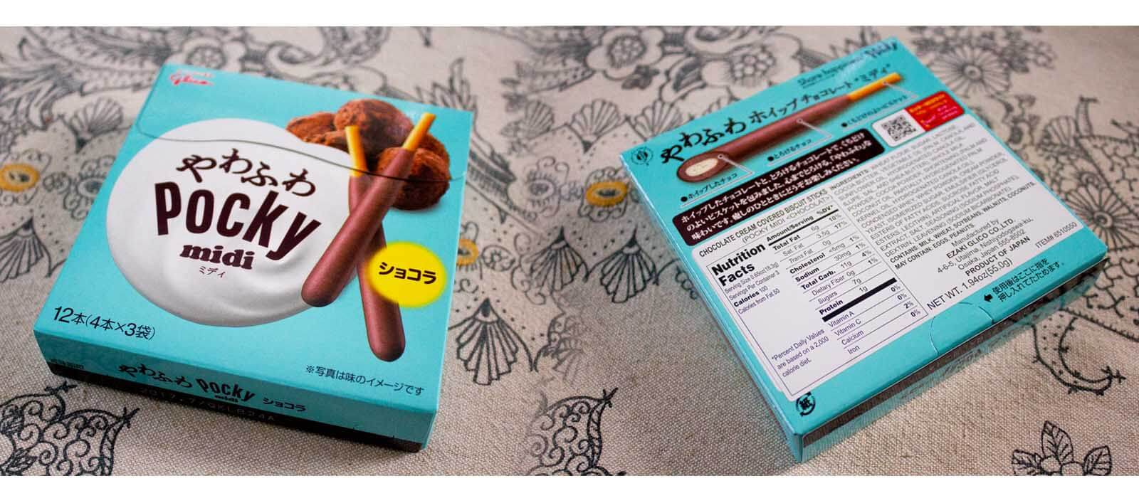 Midi Chocolate Pocky
